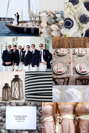 Nautical nuptuals