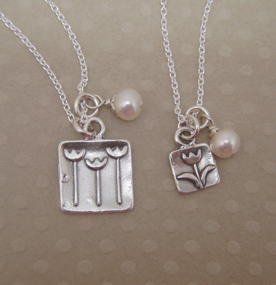 Tulip Charm Necklace