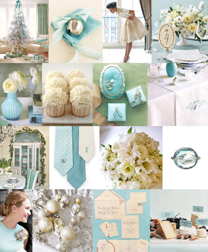 Wedding Colors Tiffany Blue With White And Silver Wedding Trends