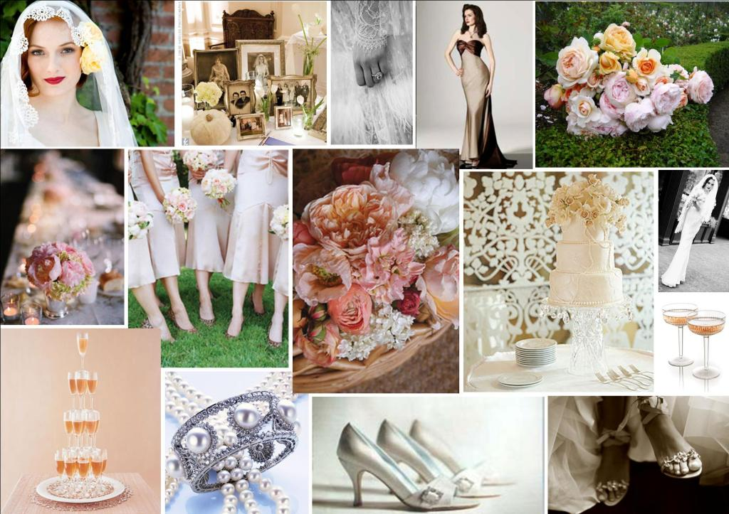 Chic Vintage Wedding Theme